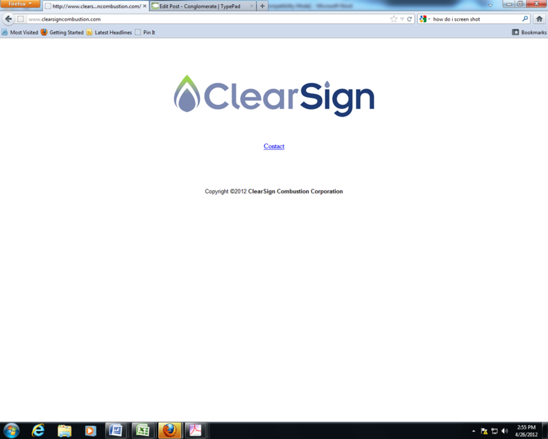 ClearSign Combustion