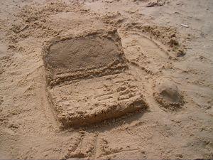 Sandlaptop